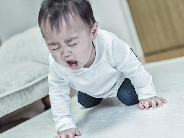 後悔する赤ちゃん